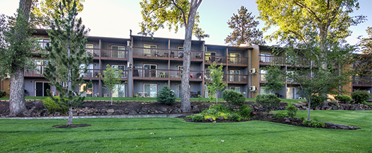 Multifamily property exterior