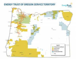 Are Your Customers In Energy Trust S Service Territory