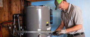 Water heater installer