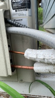 heat pump line set wrong