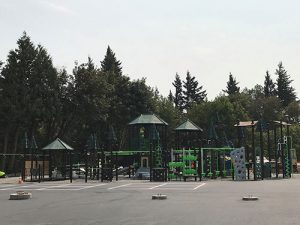 Playground at a school in Reynolds School District.