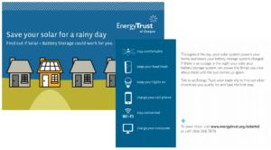 Solar + Storage report