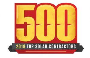 2018 Top Solar Contractors logo.
